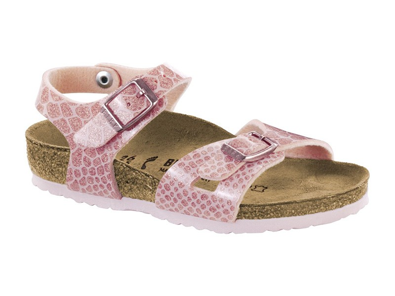 Birkenstock Rio Magic Snake Rose