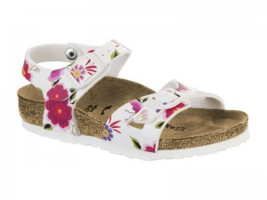 Outlet / Birkenstock Rio Kids China Flowers