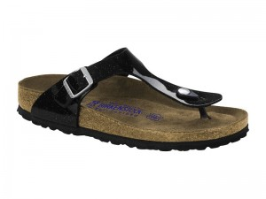 Made in Germany  Női felszolgáló nadrág Stretch / Birkenstock Gizeh Magic Galaxy Black Soft talp