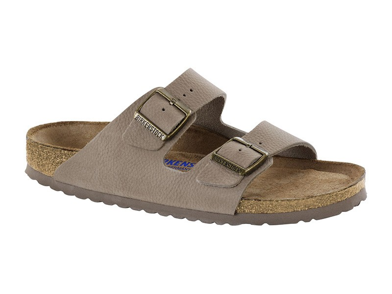 Birkenstock Arizona Steer Taupe Bőr Soft