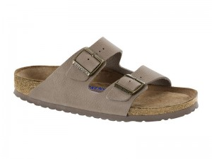 Outlet / Birkenstock Arizona Steer Taupe Bőr Soft