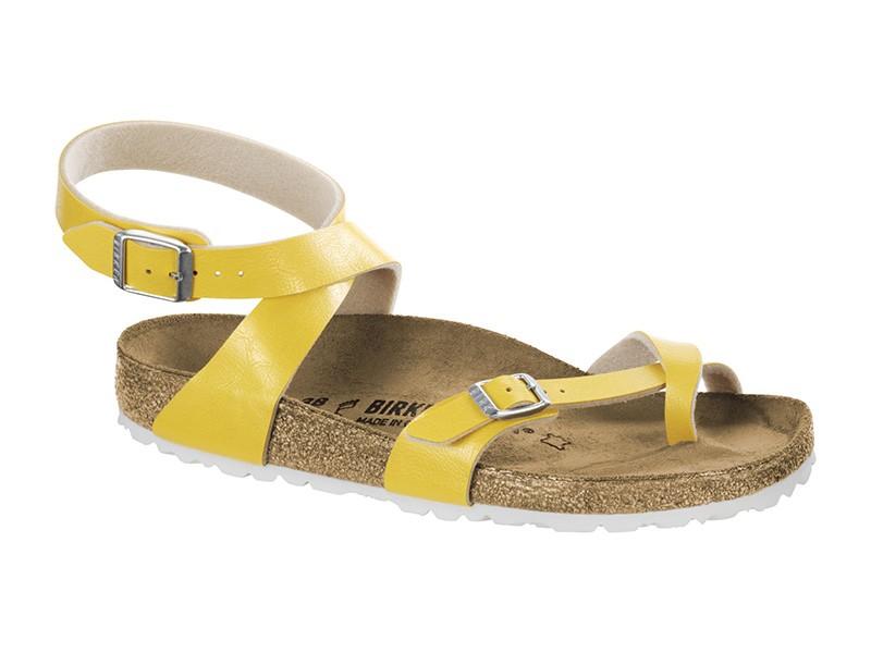 Birkenstock Yara Amber Yellow