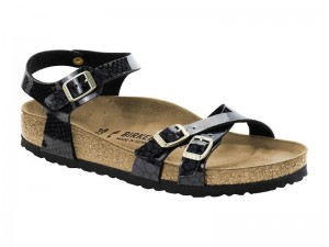 Szandál / Birkenstock Kumba Magic Snake Black