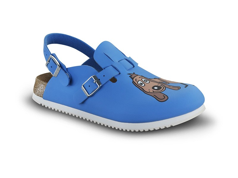 Birkenstock Kay SL Dog Blue