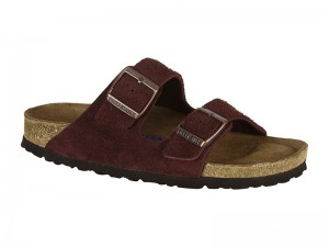 Outlet / Birkenstock Arizona Port Velur Bőr Soft