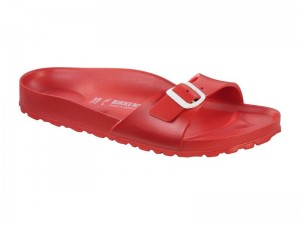 Papucs / Birkenstock Madrid EVA Red