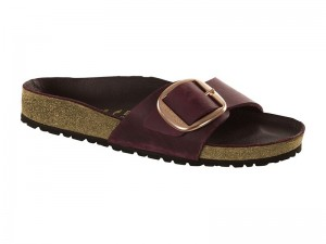 Papucs / Birkenstock Madrid  Big Buckle Zinfandel
