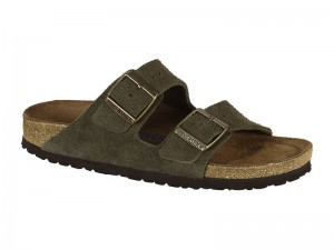 Papucs / Birkenstock Arizona Forest Velur Soft