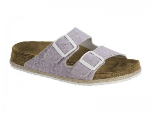 Outlet / Birkenstock Arizona Beach Purple