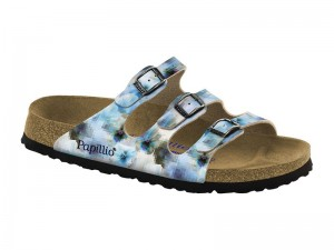 Outlet / Birkenstock Florida Pixel Blue
