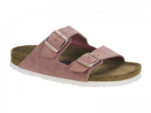 Papucs / Birkenstock Arizona Rose Velur Soft