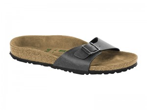 Outlet / Birkenstock Madrid Pull Up Antrachit Széles talp