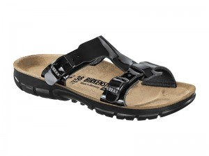 Birkenstock Arizona Magic Snake Black / Birkenstock Sofia Black Patent