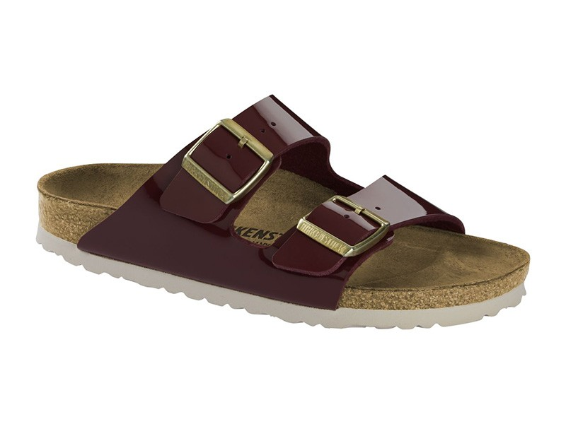 Birkenstock Arizona Bordeaux lakk