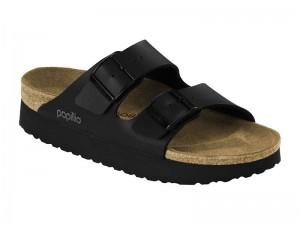Papucs / Papillio Arizona Fekete Platform