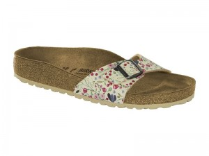 Outlet / Birkenstock Madrid Flower Beige