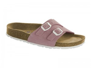 Outlet / Birkenstock Vaduz Rose Velur Soft