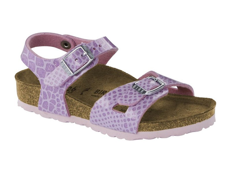Birkenstock Rio Magic Snake Lilac Gyermek