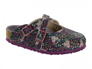 Klumpa / Birkenstock Dorian Meadow Flowers Blue