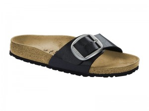 Papucs / Birkenstock Madrid Big Buckle Licorice