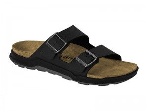 Outlet / Birkenstock Arizona CT Desert Soil Black Széles