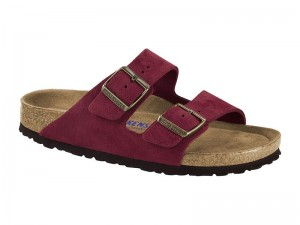 Outlet / Birkenstock Arizona Port Velur Széles Soft