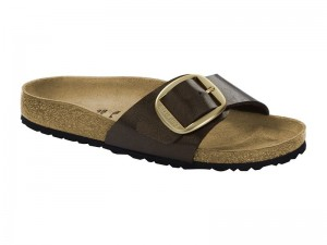 Papucs / Birkenstock Madrid Big Buckle Toffee