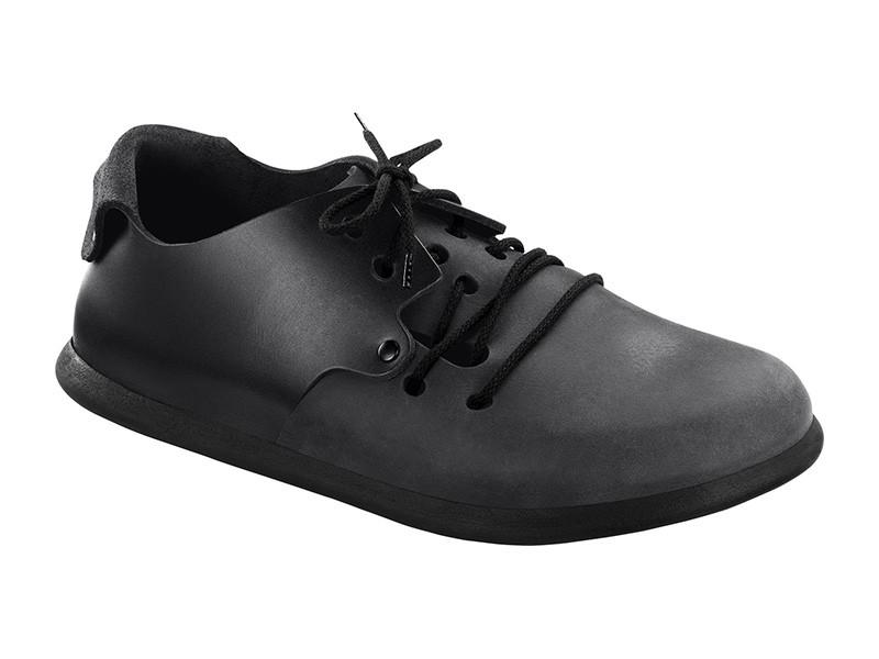 Birkenstock cipő Montana Fekete Bőr
