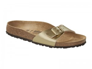 Egypántos papucs / Birkenstock Madrid Gold