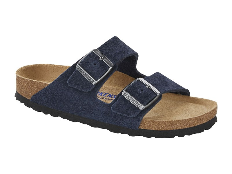 Birkenstock Arizona Navy Velur Soft