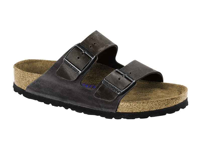 Birkenstock Arizona Iron Bőr Soft