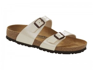 Outlet / Birkenstock Sydney Graceful Pearl White