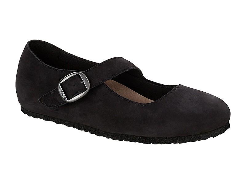 Birkenstock cipő Tracy Fekete Bőr Széles