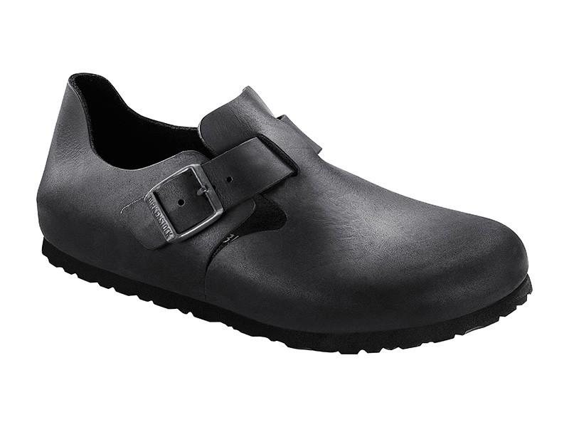 Birkenstock cipő London Fekete Bőr Soft