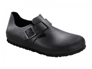 Termékek / Birkenstock cipő London Fekete Bőr Soft
