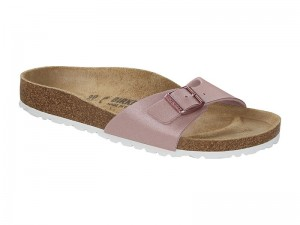 Egypántos papucs / Birkenstock papucs Madrid Graceful Old Rose Széles