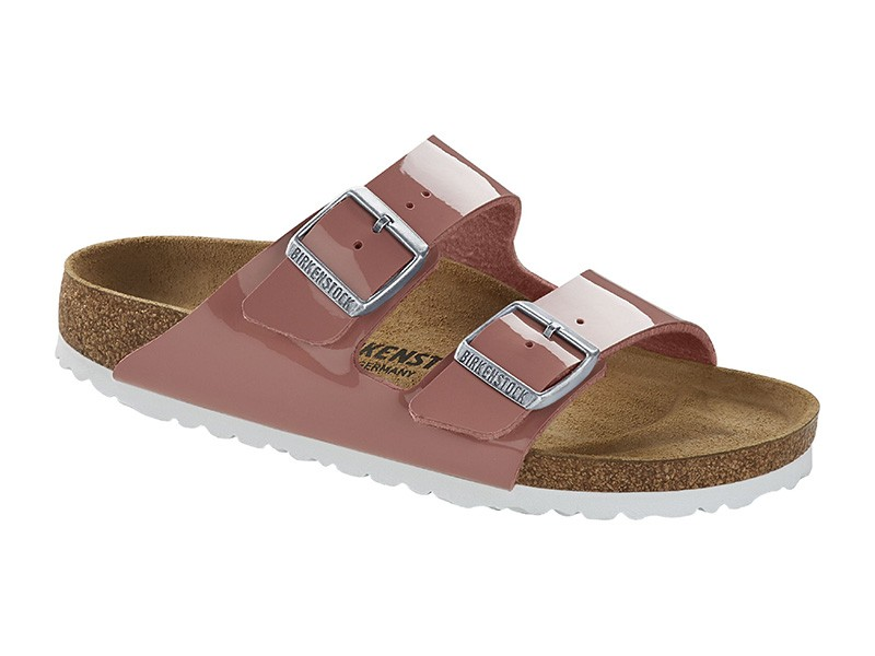 Birkenstock papucs Arizona Patent Old Rose
