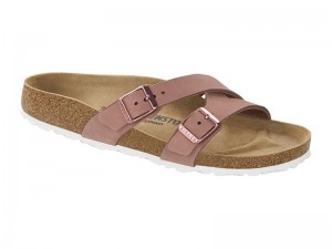 Papucs / Birkenstock papucs Yao Old Rose Bőr