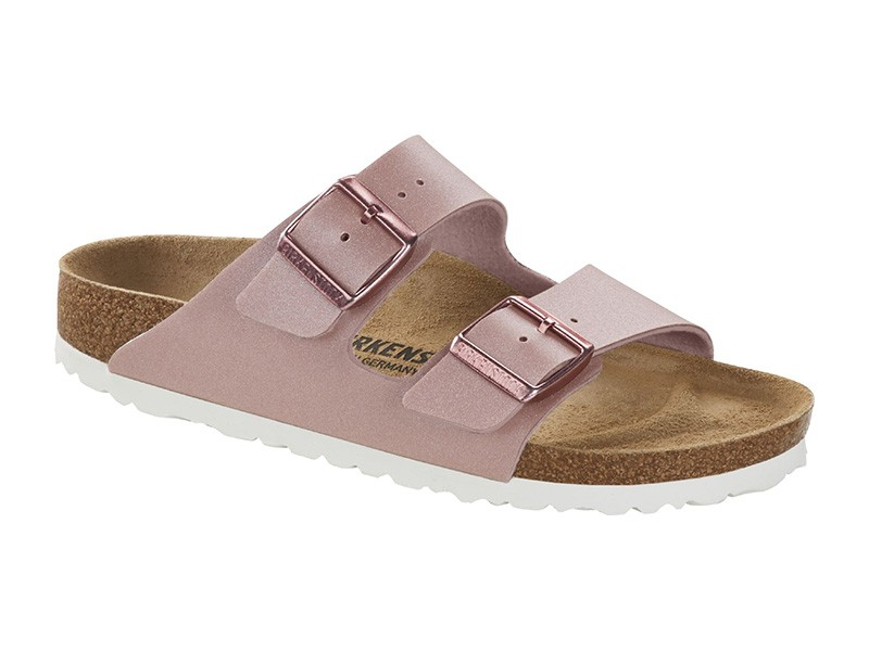 Birkenstock Arizona Icy Metallic Old Rose