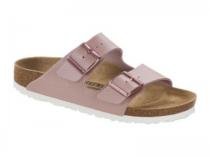 Papucs / Birkenstock Arizona Icy Metallic Old Rose