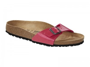 Papucs / Birkenstock Madrid Gracefull Raspberry