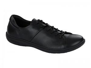 Cipő / Birkenstock Albany Fekete Bőr Széles