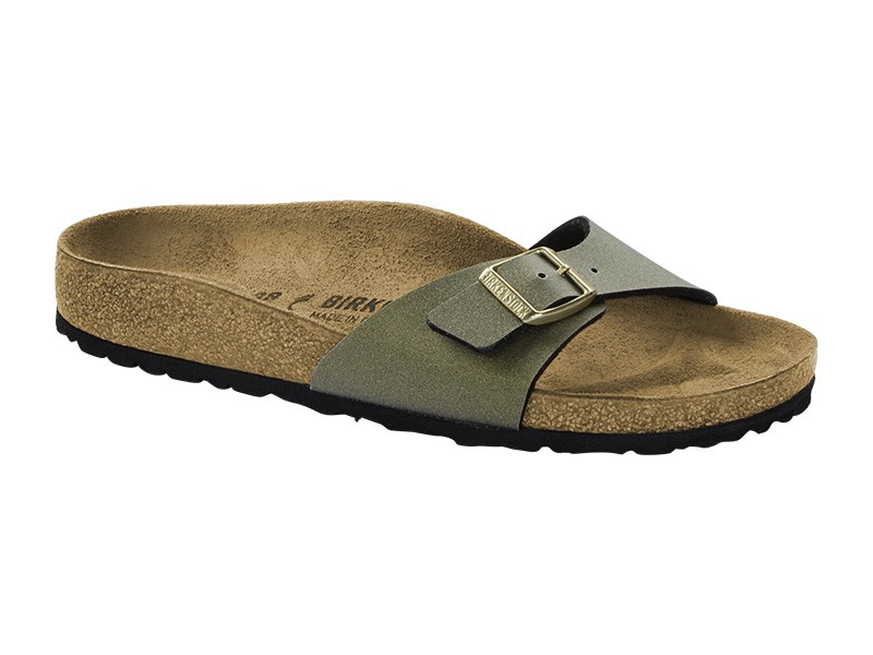 Birkenstock papucs Madrid Icy Metallic Stone Gold