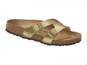 Papucs / Birkenstock papucs Yao Gold