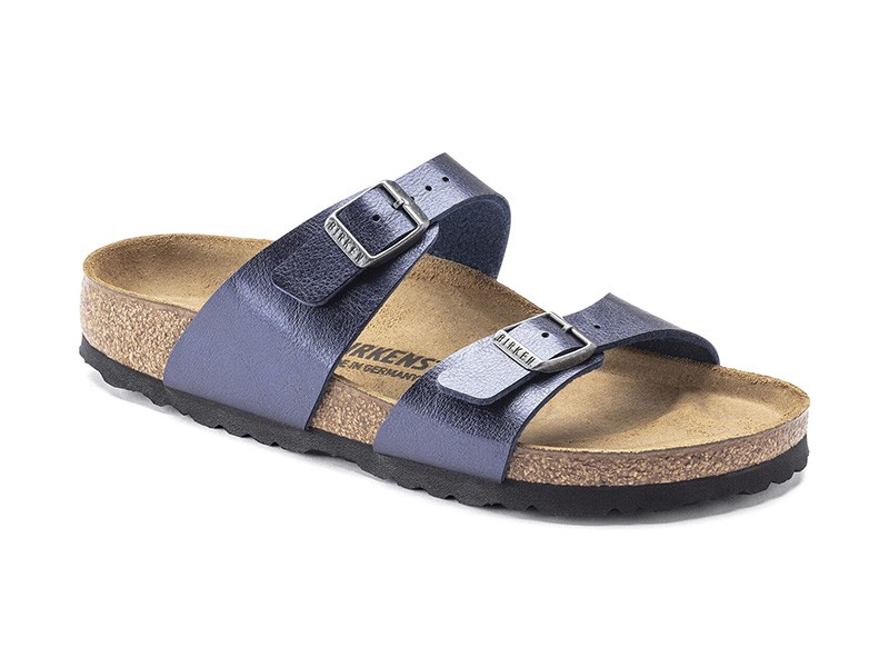 Birkenstock papucs Sydney Gracefull Midnight Blue