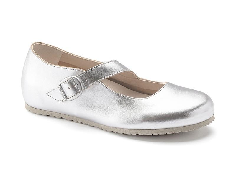 Birkenstock cipő Tracy Silver Bőr Széles